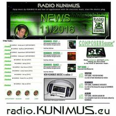 New music and more on RADIO KUNIMUS