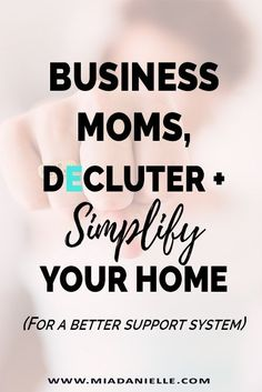 I want to help business or working moms to declutter and simplify your home for a better support system. Learn to declutter and design home spaces that make life easier. Declutter Your Life, Declutter Bedroom, The Knack, Clutter Free Home, Home Organization Hacks, Organization Ideas, Free Space, Minimalist Living, Minimalist Decor