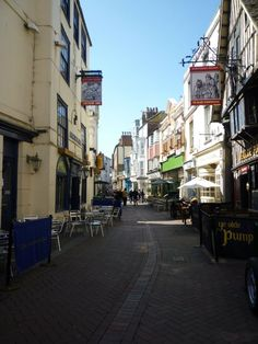 Hastings Old Town. Lots of antique and curiosity shops. Perfect for browsing.