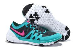 NIKE FREE TRAINER 3.0 V3 Summer Shoes Gray light blue pink