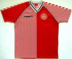 Dinamita danesa 86 Vintage Football Shirts 2a6b06875