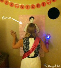 Tips for Throwing a Bachelorette Party - The Blue Eyed Dove I like #7- dressing to match the theme!