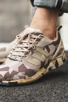 detailed look 4522b 1e8eb Brown hemp camo  adidas Adidas Zx Flux, Style Men, Hemp