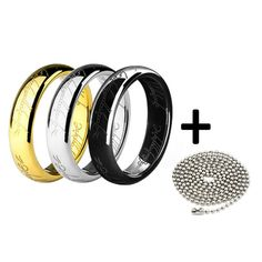 New in our shop! Titanium Ring for men, Lord of the rings style + chain http://zefashionnation.com/products/titanium-ring-for-men-lord-of-the-rings-style-chain?utm_campaign=crowdfire&utm_content=crowdfire&utm_medium=social&utm_source=pinterest