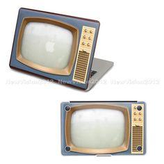 TV set Macbook cover - skin