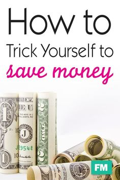 How to Trick Yourself Into Saving Money - Finance tips, saving money, budgeting planner Money Saving Meals, Save Money On Groceries, Ways To Save Money, Money Tips, Money Plan, Mo Money, Money Budget, Savings Planner, Budget Planner