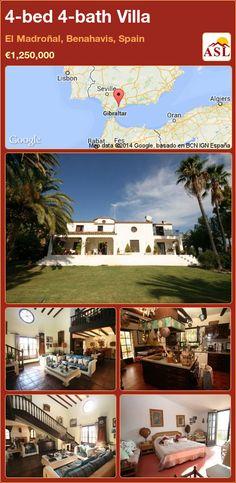 4-bed 4-bath Villa in El Madroñal, Benahavis, Spain ►€1,250,000 #PropertyForSaleInSpain