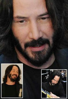 Keanu 💞❤️💞💋VAVAVOOM MY LOVE...  Perhaps the very fabric of you is so very familiar, that we are more than from the same thread