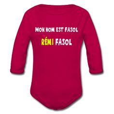 Mon nom est Fasol  #Rémi Fasol     #Humour #Prenom