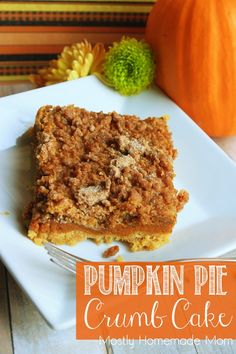 Yellow cake mix creates an incredible sweet crust for a layer of spiced pumpkin pie filling and a cinnamon crumb topping - a festive fall treat that anyone can make!     Do you decorate for Halloween? I don't just mean pumpkins and fall leaves, I mean...