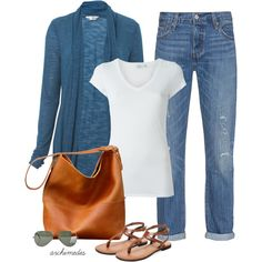 A fashion look from June 2016 featuring Miss Selfridge cardigans, Vince t-shirts and Levi's jeans. Browse and shop related looks.