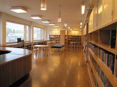 Lasten Aalto / Children's department at Aalto library.