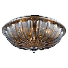 I pinned this Baletta Flush Mount II from the West Park Lighting event at Joss and Main!