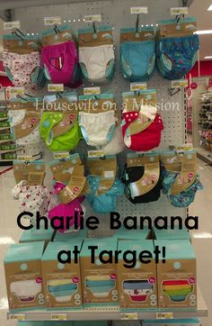 Housewife on a Mission: Fun In The Sun ~ Charlie Banana's 2-in-1 Swim Diapers & Training Pants