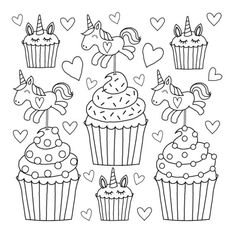 Free Printable Unicorn Colouring Pages for Kids - Buster Children's Books Free . Free Printable Unicorn Colouring Pages for Kids – Buster Children's Books Free Printable Unico Cupcake Coloring Pages, Fall Coloring Pages, Unicorn Coloring Pages, Coloring Sheets For Kids, Coloring Pages For Girls, Disney Coloring Pages, Animal Coloring Pages, Printable Coloring Pages, Free Coloring