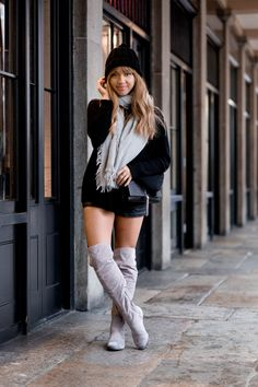 A Style Diary by Samantha Maria : THIGHS & GREY SKIES
