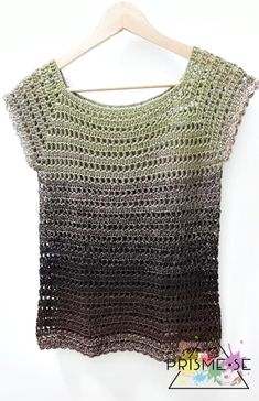 Pull Crochet, Crochet Diy, Crochet For Kids, Crochet Scarves, Crochet Shawl, Crochet Clothes, Crochet Vest Pattern, Crochet Patterns, Top Chic