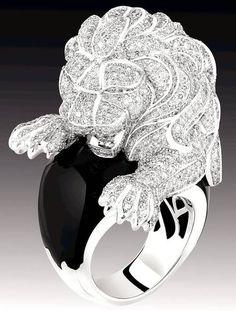 Chanel's Sous le Signe du Lion collection of fine jewellery