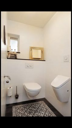 urinoir bij het toilet?