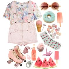 """""""pink"""" by dasha-volodina on Polyvore"""