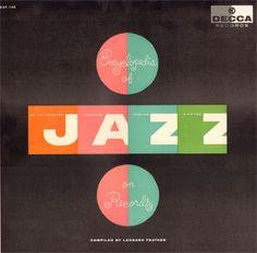 Various Artists - Encyclopedia of Jazz on Records Vinyl Cover, Cover Art, Logo Label, Magazine Cover Layout, Jazz Poster, Experimental Music, Charley Harper, Pochette Album, Album Cover Design