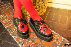 Red star creepers