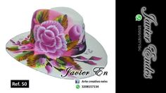 sombreros pintados a mano https://www.youtube.com/watch?v=sEv_KjXSNMc