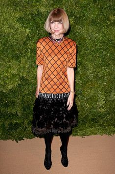 Anna Wintour attends the 8th Annual CFDA/Vogue Fashion Fund Awards