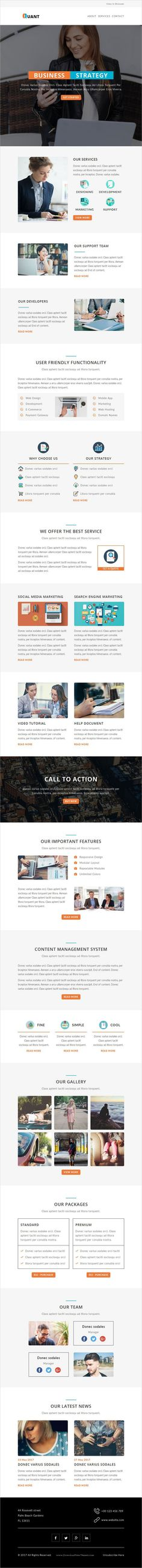 Quant is a multipurpose responsive #Email #Newsletter template for #viral marketing and #promotion with stamp ready builder access download now➩ https://themeforest.net/item/quant-multipurpose-responsive-email-template-with-stampready-builder-access/19567298?ref=Datasata