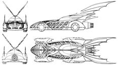 The Batman Forever Batmobile sought to accentuate its intricate lines. Description from information2share.wordpress.com. I searched for this on bing.com/images