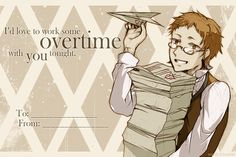 """""""I'd love to work some overtime with you tonight."""" 