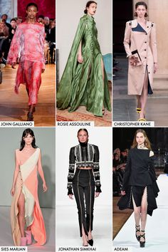 Buttoned-Up  Lace-up details are on their way out this year, and we finally know why: buttons. Industry favorites like Rosie Assoulin, Sies Marjan, and more are doing choose-your-own-adventure slits with buttons down the side of skirts and pants.