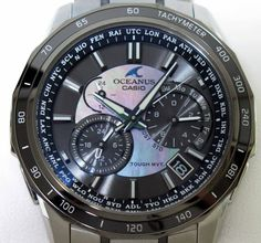 Watch term guide  Sapphire Crystal on a Casio Oceanus Hodiny 80fd48a686
