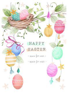 Leading Illustration & Publishing Agency based in London, New York & Marbella. Easter Art, Easter Crafts, Easter Bunny, Easter Eggs, Fun Craft, Easter Illustration, Easter Wallpaper, Easter Colouring, Easter Wishes