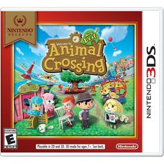 Nintendo Selects:Animal Crossing:New Leaf - Nintendo 3DS, CTRPEGD3