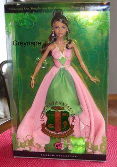 Alpha Kappa Alpha centennial Barbie