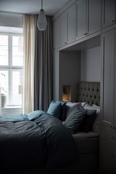 Bedroom Wardrobe, Bedroom Loft, Bedroom Inspo, Home Bedroom, Master Bedroom, Bedroom Decor, Table Decor Living Room, Bedroom Cupboards, Aesthetic Room Decor