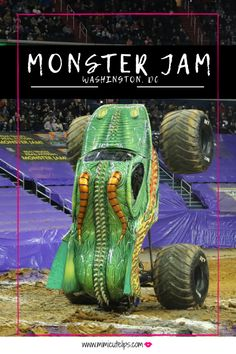 Lifestyle Media Correspondent MimiCuteLips recaps a Monster Jam Washington, DC show experience. She received comp tickets to attend. Monster Jam, Monster Trucks, Truck Names, Custom Wraps, Lifted Chevy Trucks, Heavy Truck, Black Families, Truck Accessories, Custom Trucks