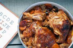 En super nem kyllingeret i ovnen, er altså dejlig når det er så godt vejr udenfor her sidst i september. Det er lidt køligt om morgenen, men når solen først kommer igennem er det faktisk så dejligt…