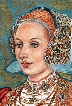 Anne of Cleves by Mark Satchwill History Of England, Tudor History, European History, British History, Ana De Cleves, Anne Of Cleves, Dinastia Tudor, Elisabeth I, Elizabeth Of York