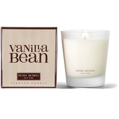 Henri Bendel Vanilla Bean Signature 9.4 Oz Candle ($30) ❤ liked on Polyvore featuring home, home decor, candles & candleholders, henri bendel candles, vanilla candle, heart candles, wick candles e vanilla bean candle