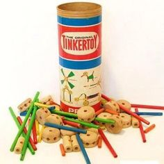 Tinker Toys. Give me this and my cars, and I was a happy girl.