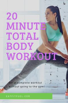 Looking for a quick and complete workout you can do at home? Ditch the gym membership fees and get fit and toned at home with this total body workout in just 20 minutes a day! A free workout video that delivers real results, quickly. The workout you have been looking for to bring real results, real fast. Workout from home with this free workout video.  #WorkoutVideo #WorkoutAtHome Great Leg Workouts, Quick Full Body Workout, Arm Workouts At Home, Free Workout, Weight Training For Beginners, Forearm Workout, 20 Minute Workout, Exercise Routines, Gym Membership