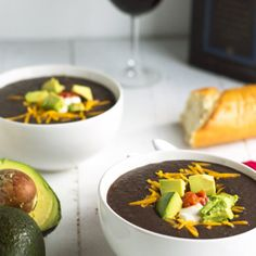 Black Bean Soup for the Game!