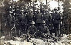 Uhlan stormtrooper WW1