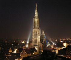 This Lutheran church in Ulm Germany isn't one of the biggest in the world but…