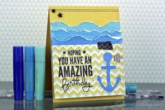 Hoping You Have An Amazing Birthday - using GELATO - iheartartblog.com