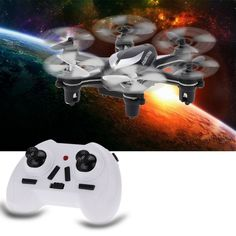 High Quality HUAJUN W609-5 2.4G 4-CH 6-Axis Gyro Mini RTF Drone RC Hexacopter…