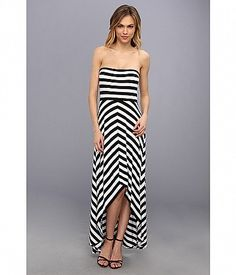 Cause a scene in the Calvin Klein™ Striped Dress. Stretchy and soft, this tube dress is covered i. Tube Dress, Striped Dress, Dress Black, Summer Looks, Calvin Klein, Strapless Dress, Bra, Black And White, My Style