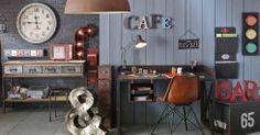 Tendensenboek Herfst-Winter 2013 door onze stylisten van Maisons du Monde #industrial